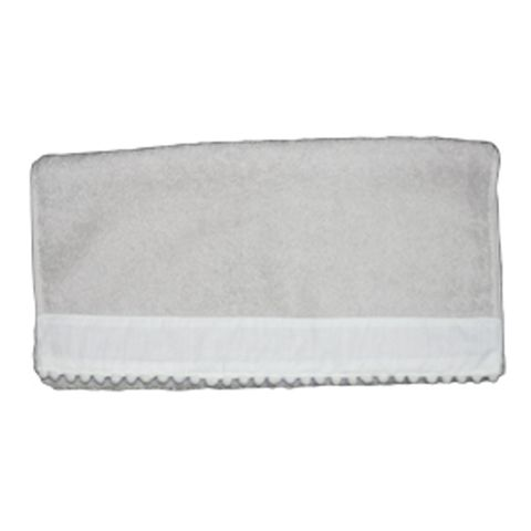 Single Grey Hand Towels with Baubles