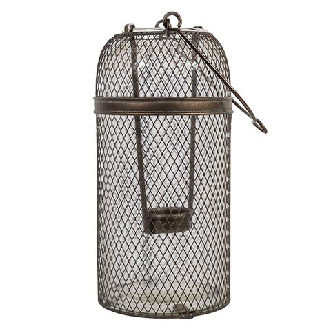Mesh Tealight Lantern Tall