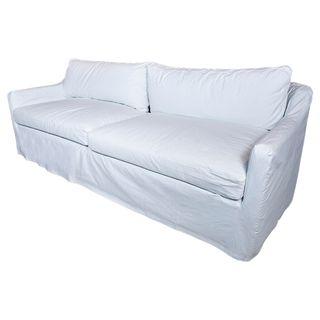 Dume Sofa White Cotton