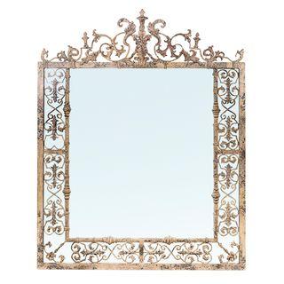 Romantique Arch Metal Mirror