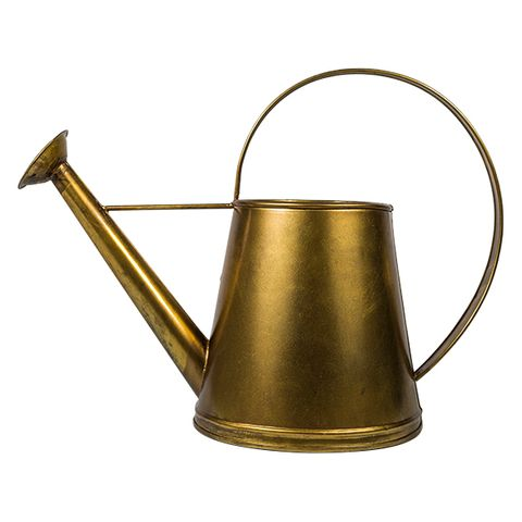 Alloy Gold Watering Can
