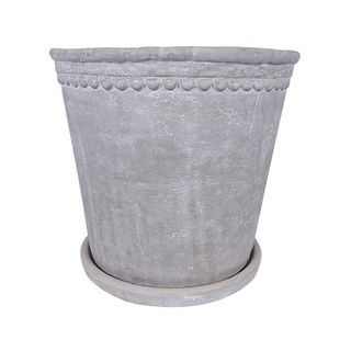 Grey Scallop Planter Small