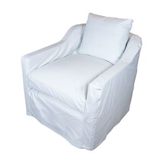 Dume Chair White Cotton