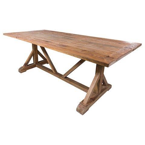 Cheltenham Stretcher Style Dining Table
