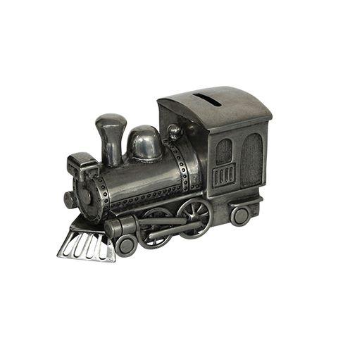 Pewter Train Money Box
