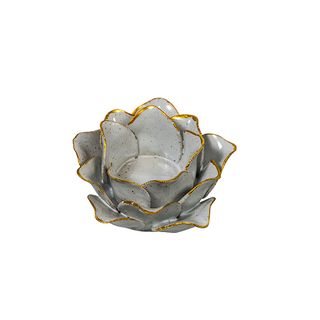 Olivia Closed Flower Candle Holder