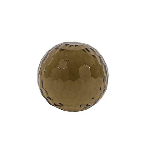 """Moss Honeycomb Cut Ball """"3"""