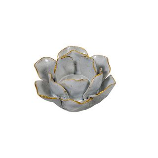 Olivia Open Flower Candle Holder