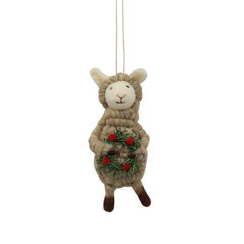 Sheep with Wreath