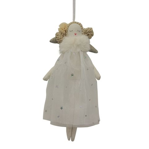 Amelia with Star Dress Hanging Angel