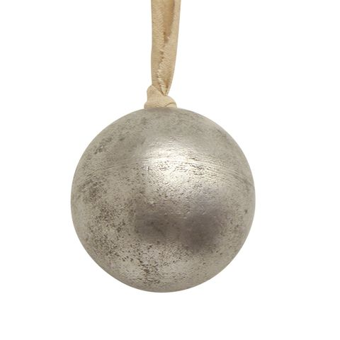 Wooden Ball Silver Large