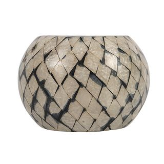 Mosaic Round Votive Large