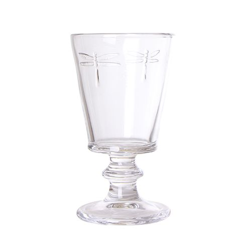 Dragonfly Wine Goblet