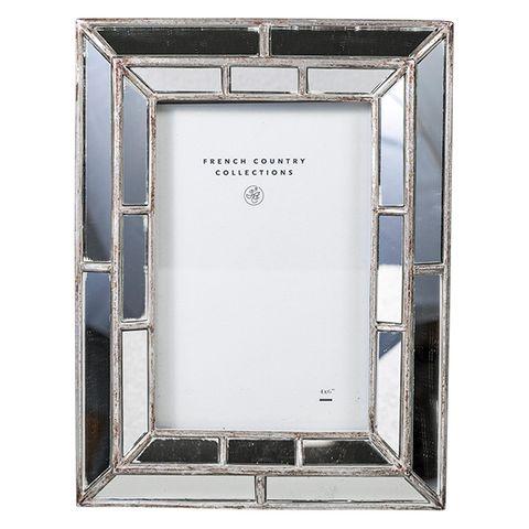 """Mirror Photo Frame 4x6"""""""