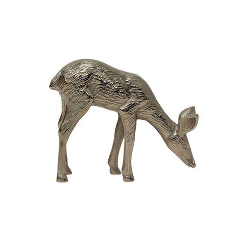 Reindeer Silver Grazing Décor
