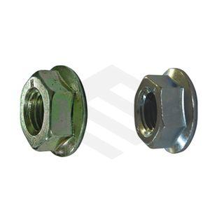 M10 Serrated Flange Nut Zinc
