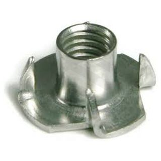 M8 Tee Nut 4 Prong SS304