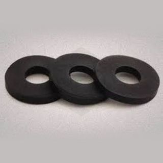 M5 x 30 x 30 x 10 EPDM Washer with Adhesive Backing