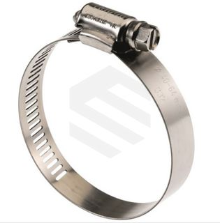 TRIDON CLAMP S/S 301 PERFORATED BAND S/S 305 SCREW 40-64MM