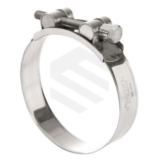 CLAMP T- BOLT ALL STAINLESS 104-112MM
