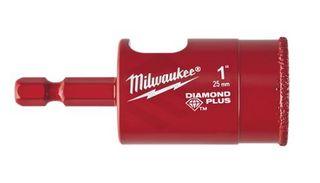 Milwaukee - Diamond Plus One Piece Hole Saw 1 25mm