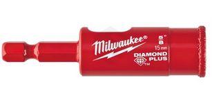 Milwaukee - Diamond Plus One Piece Hole Saw 5/8 15mm