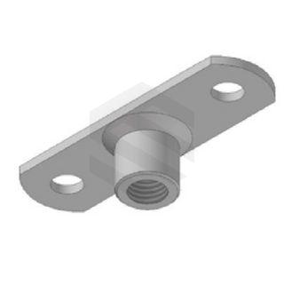 M10 Threaded Rod Base Plate Zinc