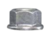 Splice Flange Nut M10 Z/P