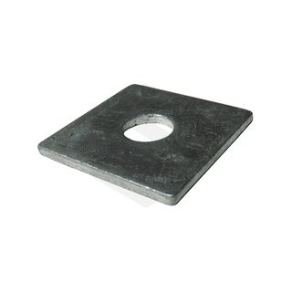 40x40x6.0mm Square Plate - M10