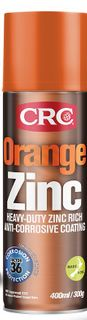 CRC Orange Zinc Aerosol 400ml