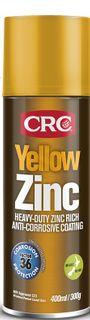 CRC Yellow Zinc Aerosol 400ml