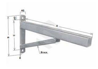 1500mm Cantilever Bracket Braced HDG