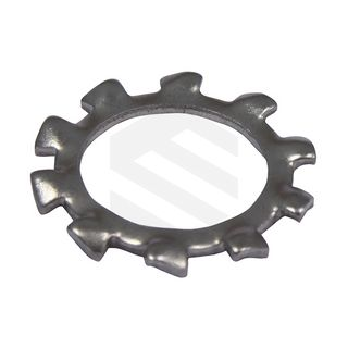M10 External Tooth Lock Washer ZP