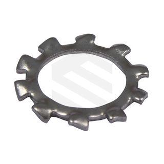 M6 Washer External Tooth Lock ZP