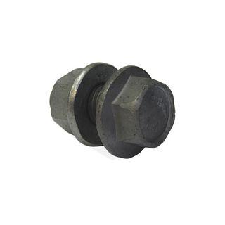 M12X30 Flanged Purlin Bolt & Nut 8.8 Galv