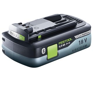 Festool 18V Li-Ion 4.0 Ah Airstream Bluetooth High Power Battery