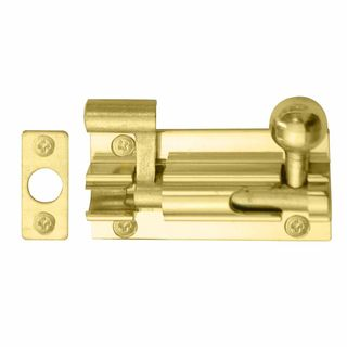 NECKED BOLTS UNLACQUERED BRASS