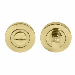 PRIVACY TURN SETS UNLACQUERED BRASS