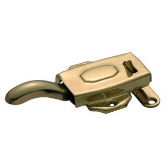 KITCHEN-DRESSER LATCH POLISHED BRASS