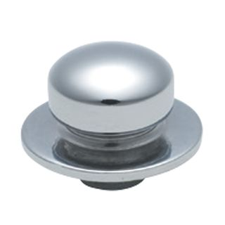 DIMMER-FAN CONTROL KNOB CHROME PLATE
