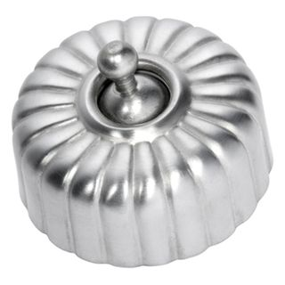FLUTED RANGE SATIN CHROME