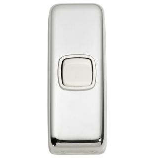 FLAT PLATE ROCKER CHROME PLATE-WHITE