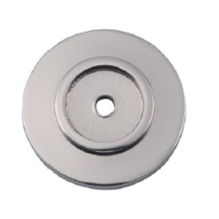 CABINET KNOB BACKPLATES SATIN NICKEL