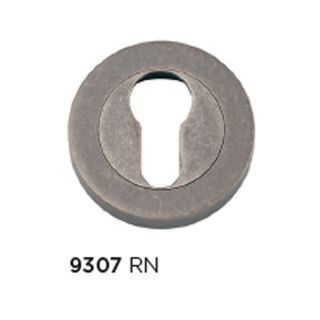 EURO ESCUTCHEONS RUMBLED NICKEL