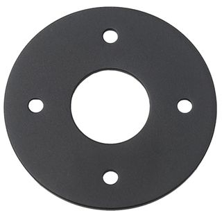 ADAPTOR PLATES MATT BLACK