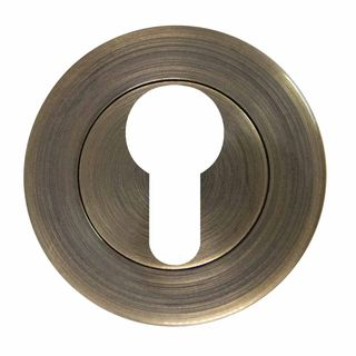 EURO ESCUTCHEONS BRUSHED BRONZE
