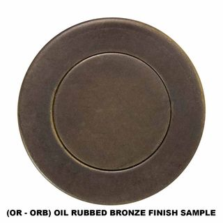 LEVER ON PLATE OIL RUBBED BRONZE