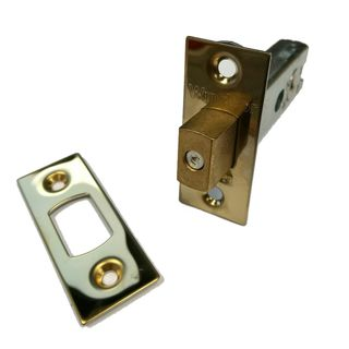 PRIVACY BOLTS UNLACQUERED BRASS