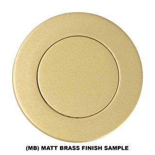 HOODED PULLS MATT BRASS