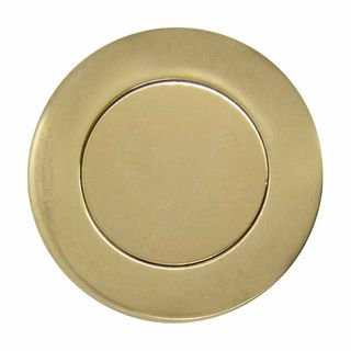 HOODED PULLS UNLACQUERED BRASS